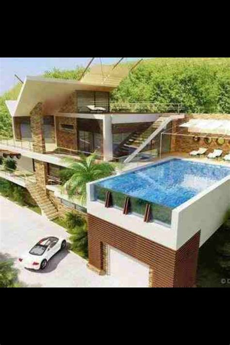 Garage Swimming Pool swimming pool above garage back to the future