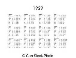 Calendario De 1929 1929 Ilustra 231 245 Es E Clip Arte 30 1929 Ilustra 231 245 Es Royalty