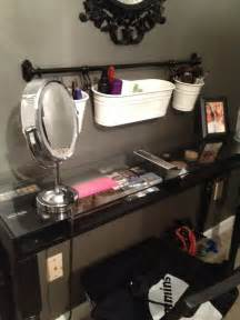 Ikea Vanity Mirror Hack Maddie S Ikea Hack Makeup Table It