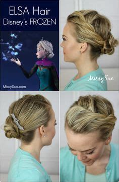 style small hair and freeze it 25 best ideas about frozen hair tutorial on pinterest