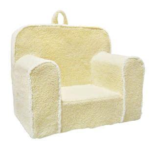 toddler foam chairs magical harmony everywhere foam chair sherpa ivory