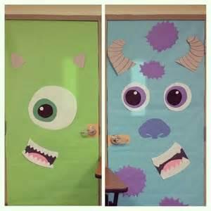 monsters inc door decorations door decorating monsters inc for decorations