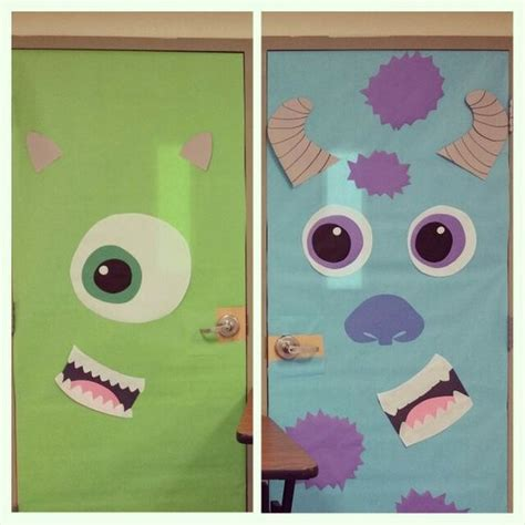 Monsters Inc Door Decorations door decorating monsters inc for decorations monsters inc door
