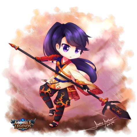 anime mobile legend wallpaper mobile legend chibi labzada wallpaper