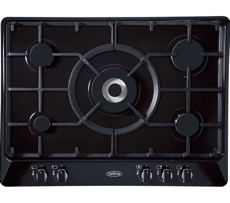 Buy BELLING GHU70GC Gas Hob   Black   Free Delivery   Currys