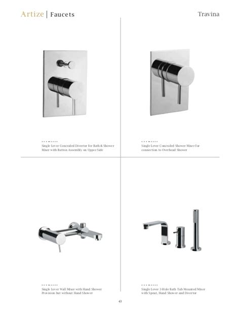 artize bathroom fittings artize faucets