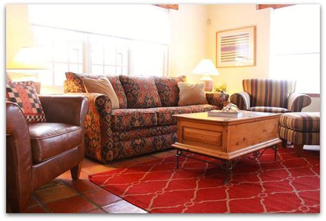 Santa In Living Room by Serving Up Santa Fe Style Client Vaults Blue Eye Diy