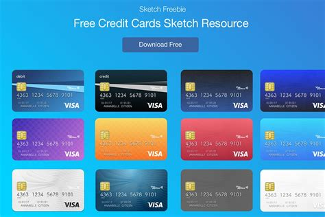 credit card template 2020 free credit cards ui sketch archives creativetacos