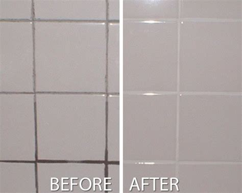 Grout Cleaning Before And After Grout Tile Cleaning West Columbus Ohio The Grout Medic
