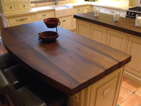 Wood Look Countertops by Woodform Concrete Kitchen Traditional Kitchen New