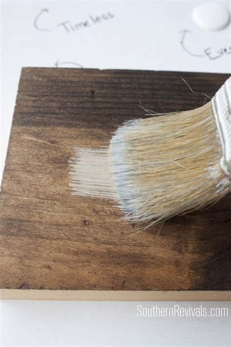 faux driftwood paint finish tutorial restoration