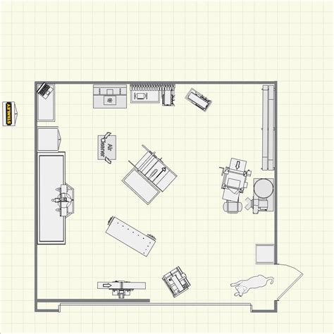Woodworking Shop Floor Plans 20x20 12x12 Woodworking Shop 20 X House Plans