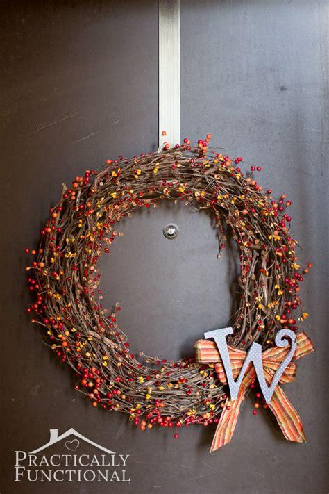 make a simple wreath step step in under ten