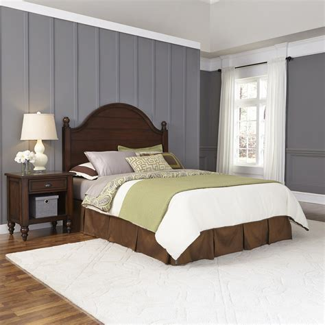 contry comfort home styles country comfort queen headboard and night stand