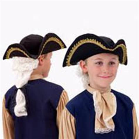 How To Make A Colonial Hat Out Of Paper - save on george washington costumes