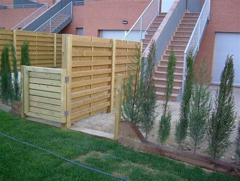vallas de jardin de madera vallas de madera fustmar