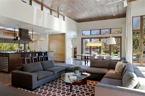 Watson Sofa Room And Board by Minimalist Design Open Kitchen Family Room Ideas Kitchen