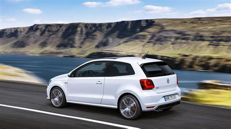 wallpaper hd polos hd volkswagen polo gti white back view wallpaper