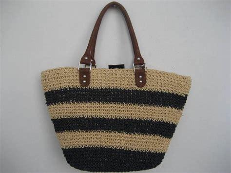 Handmade Straw Bags - china handmade paper straw bag china paper straw basket