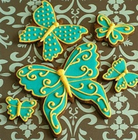 butterfly cookies cake ideas