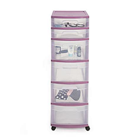 Sterilite 3 Drawer Wide Cart Purple by View Sterilite 174 Purple 6 Drawer Cart Deals At Big Lots