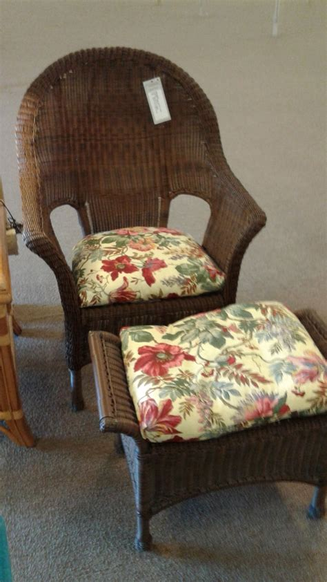 outdoor wicker chair with ottoman outdoor wicker chair ottoman delmarva furniture consignment