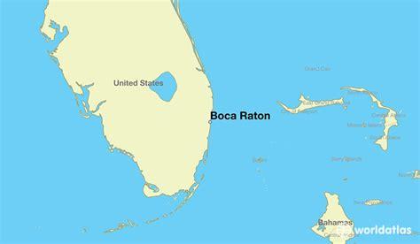where is boca raton fl boca raton florida map