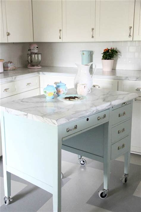 More Diy Kitchen Islands Decorating Your Small Space Diy Kitchen Desk