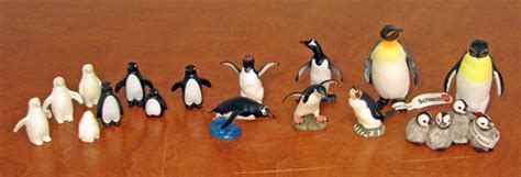 mostly animals rubber sts my penguins