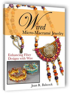 Books On Macrame - wired micro macrame book