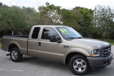 auto air conditioning service 1995 ford f250 navigation system find used 2004 f250 xl power stroke diesel 6 0l v8 2wd ext cab aut trans no reserve in
