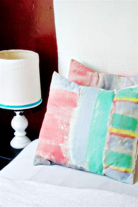 diy chair cushion covers diy brushstroke cushion covers