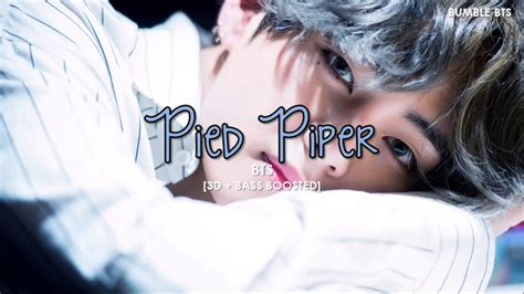 bts pied piper mp3 bts 방탄소년단 pied piper 8d audio use headphones galaxymp3