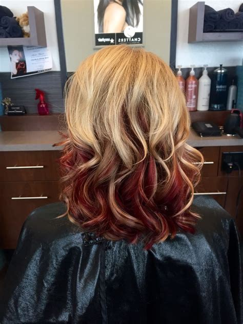 red to blonde ombre bob 12 best images about new hair on pinterest natural