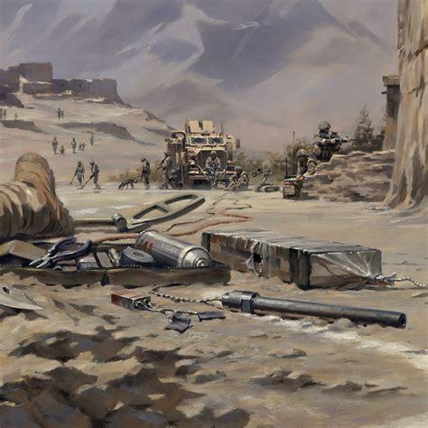 eod artwork towards the bomb artist stuart brown