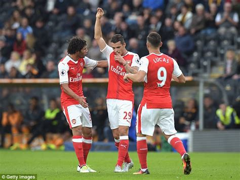 arsenal xhaka goal arsenal star granit xhaka reveals he dreamt about goal