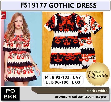 3101dde 198 000 Premium Dress dress supplier baju bangkok korea dan hongkong