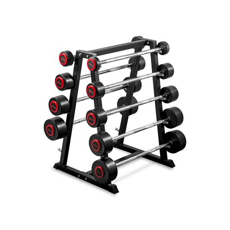 Barbel Set Fixed Barbell Set With Rack 10 50kg Nc Fitness