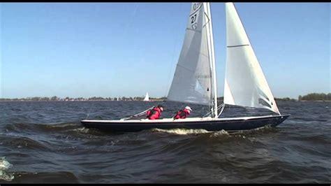 heeg boten te koop g2 open zeilboot jachtwerf heeg youtube
