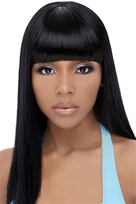 curly hair chinese bang black women black girl hairstyles with bangs