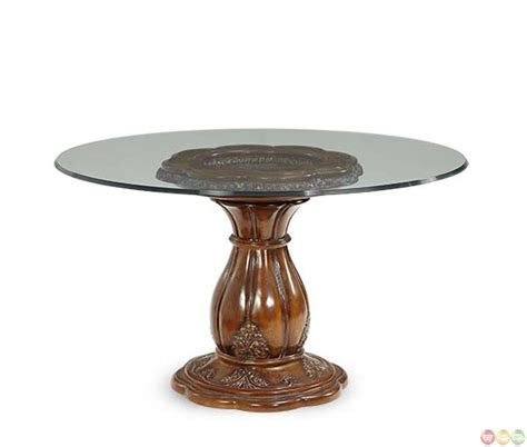 Round Glass Top Dining Table Shop Factory Direct Dining Tables Glass