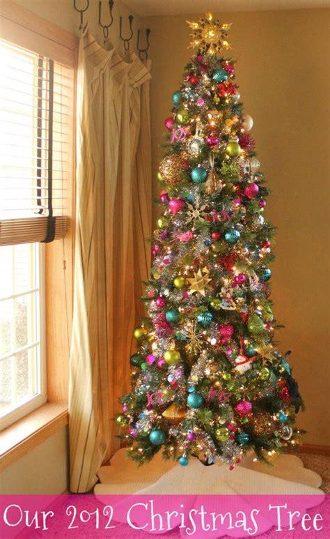 best 25 colorful christmas tree ideas on pinterest