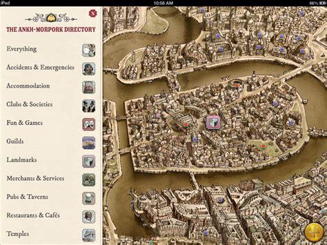 discworld map discworld the ankh morpork map brings terry pratchett s
