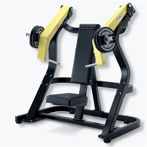 technogym bench press pure strength incline chest press technogym