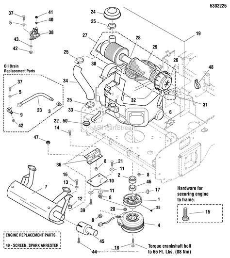 snapper parts diagram snapper pro 5900937 s200xtkav2661 61 quot zero turn rider