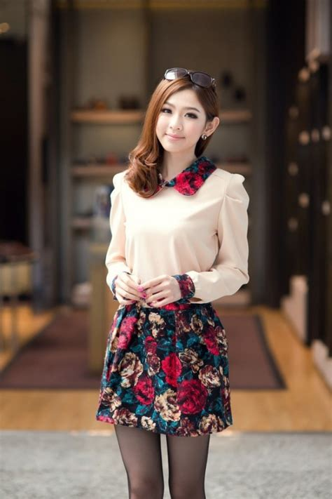 In Style Asia autumn fashion asian style clothing collection