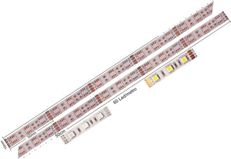 Led Smd Pcb Toso 60 pcb para led 5050 fondo blanco