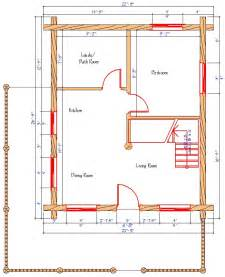 Log Cabin Floor Plans With Prices Fork Featuring A Covered Front Porch And Truss