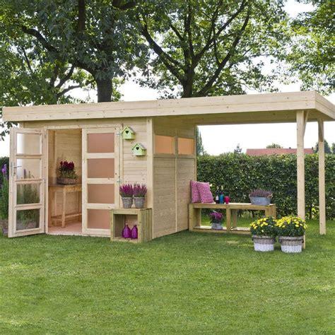 casetta in giardino casetta da giardino in legno di abete vermont 5 8x2 5 m