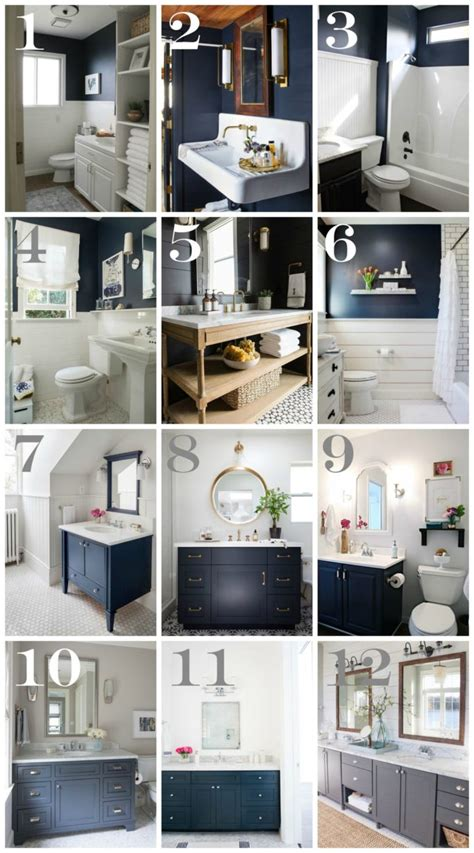 bathroom vanities decorating ideas navy bathroom decorating ideas